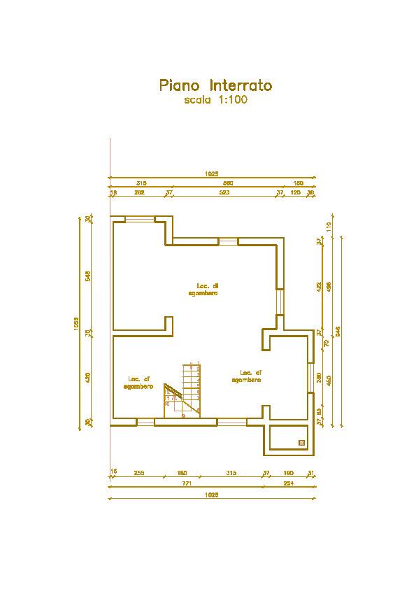 Villetta bifamiliare in vendita, rif. Mi679 (Planimetria 4/4)