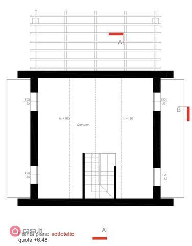 Villa singola in vendita, rif. Mi684 (Planimetria 3/3)