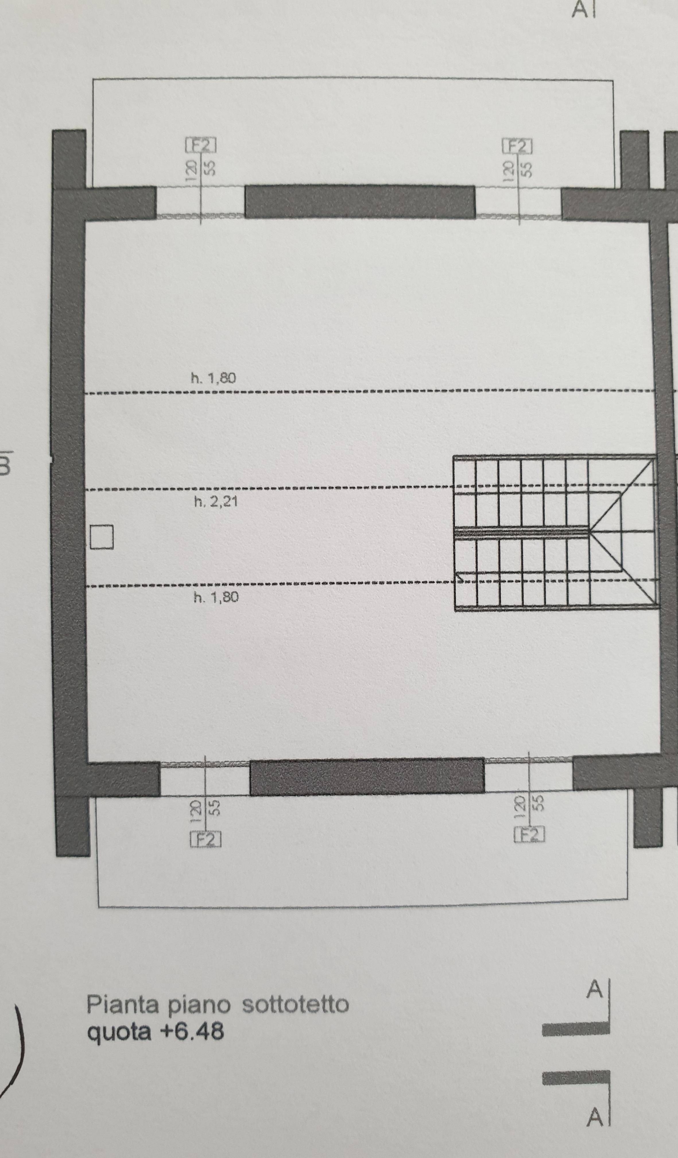 Villetta bifamiliare in vendita, rif. MI686 (Planimetria 3/3)