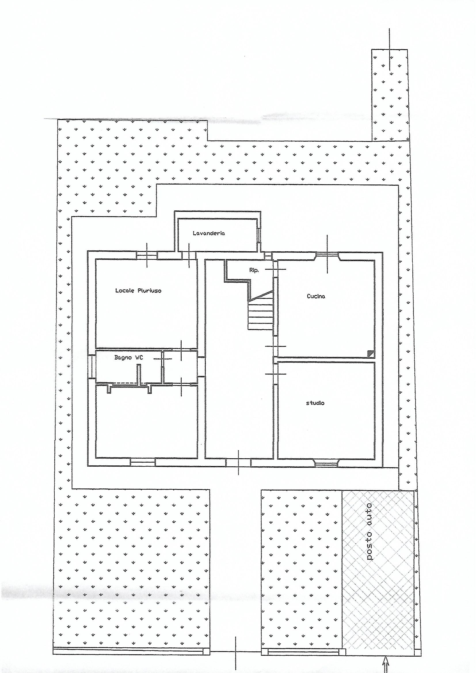 Planimetria 2/3 per rif. 6785