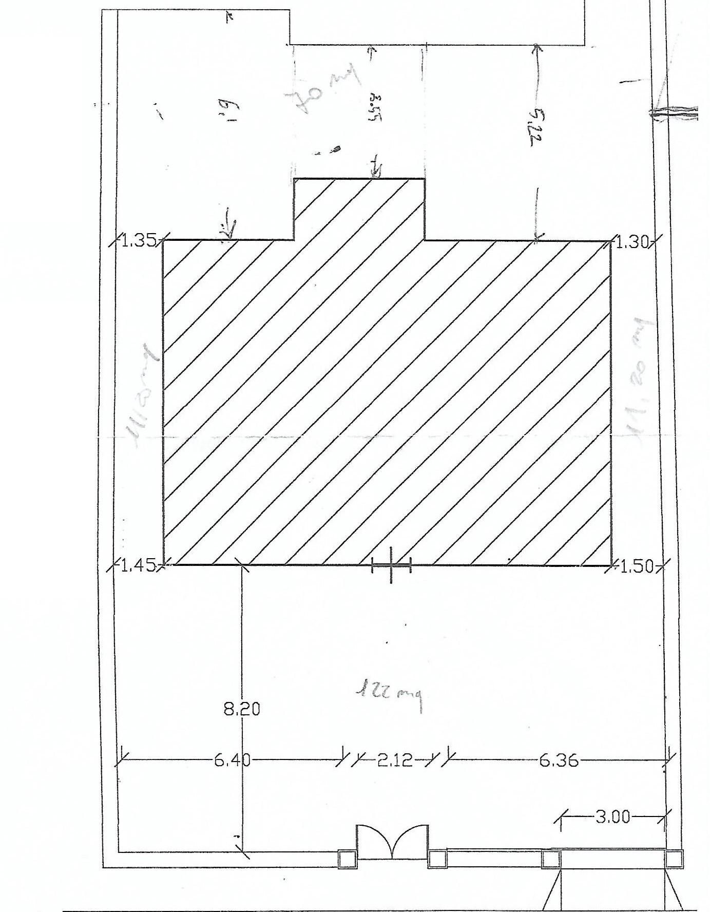 Planimetria 1/3 per rif. 6785