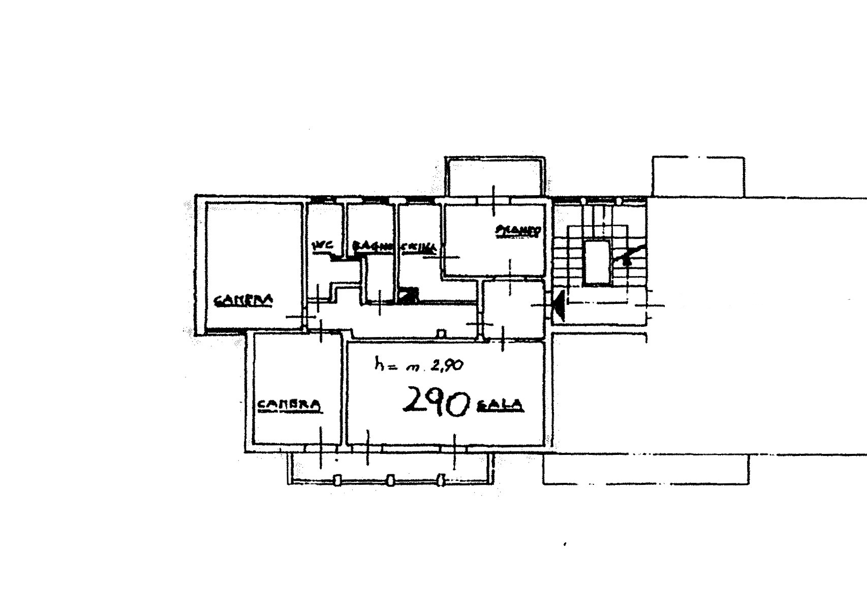 Planimetria 1/1 per rif. 6825