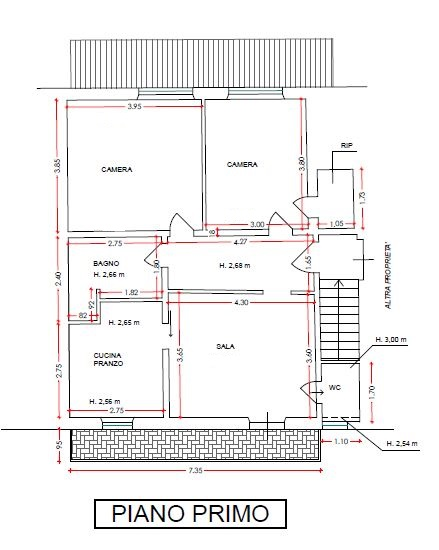 Planimetria 2/2 per rif. 6915