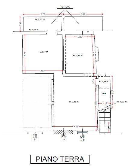 Planimetria 1/2 per rif. 6915