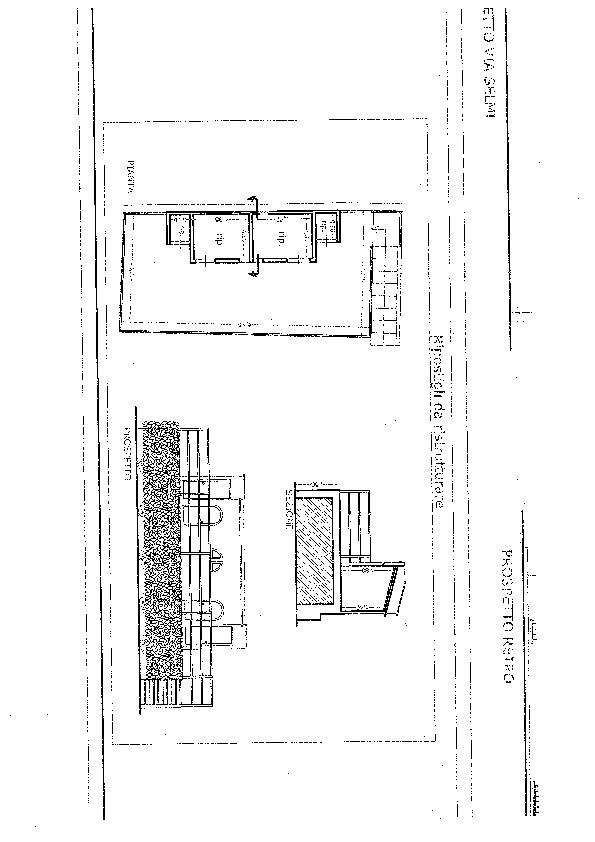 Planimetria 1/4 per rif. 6980-D
