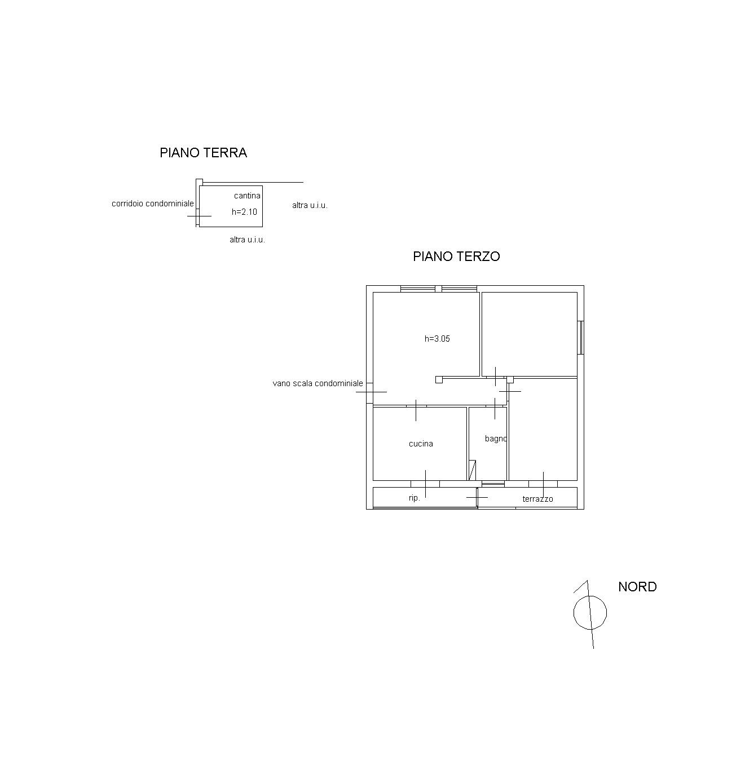 Planimetria 1/1 per rif. 6987