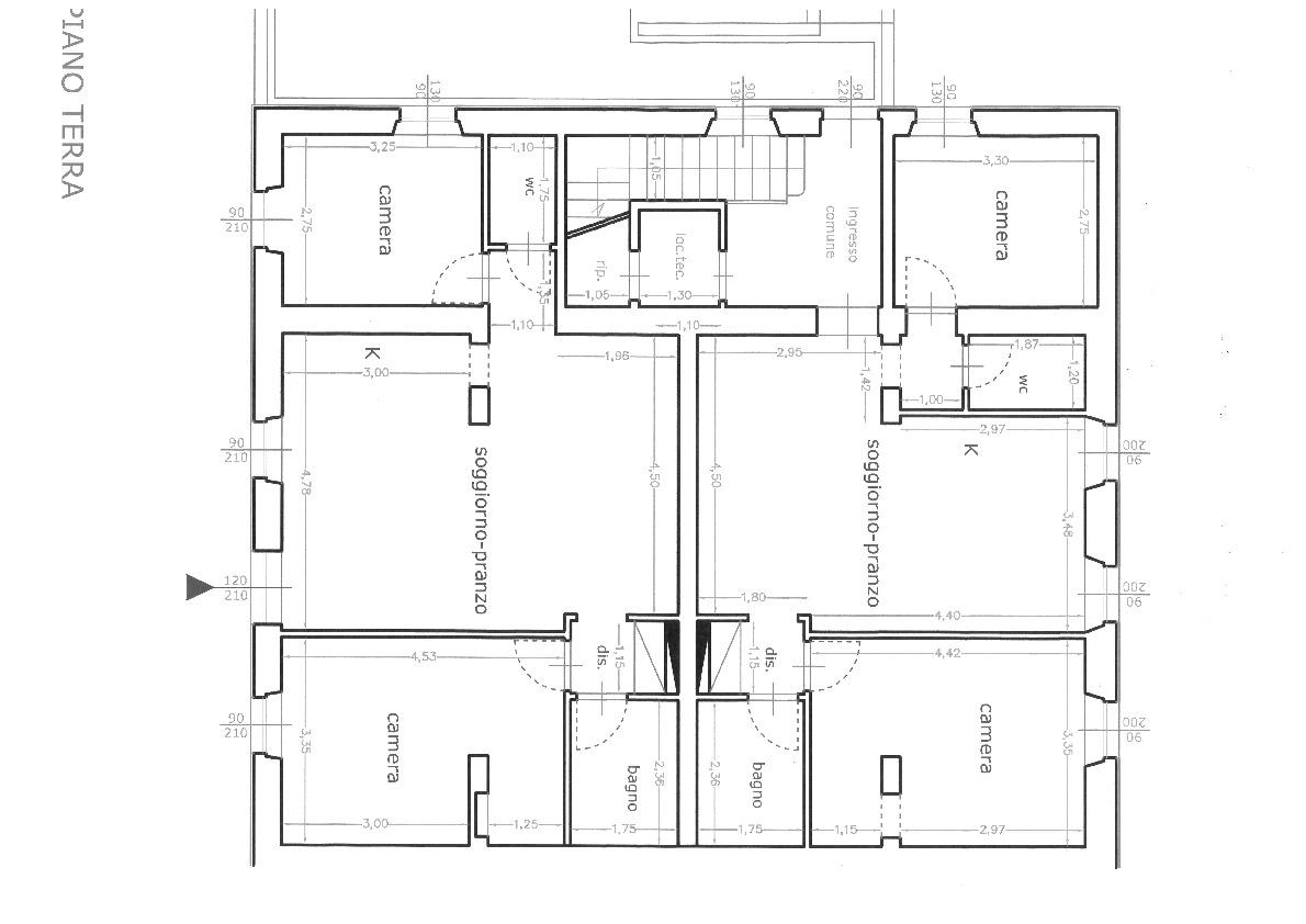Planimetria 4/4 per rif. 6980-A