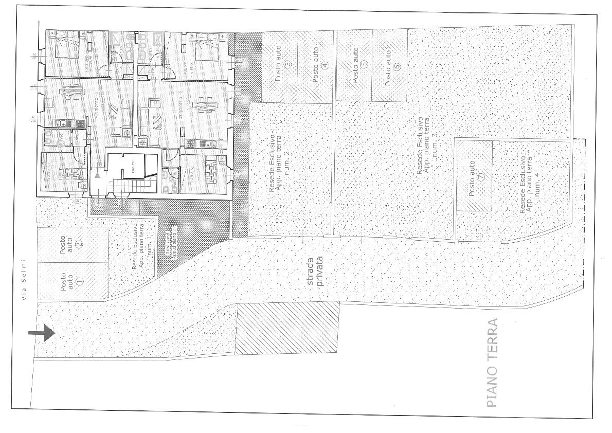 Planimetria 2/4 per rif. 6980-A