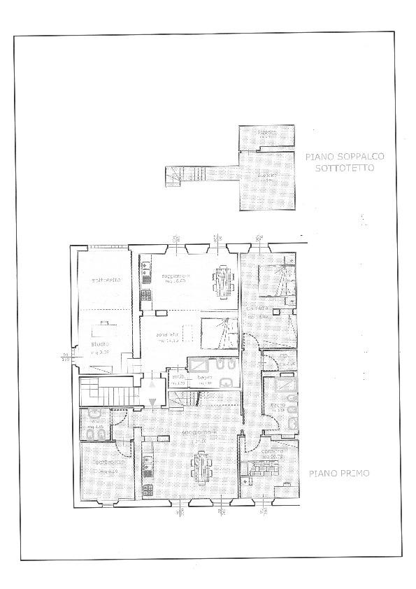 Planimetria 3/4 per rif. 6980-A
