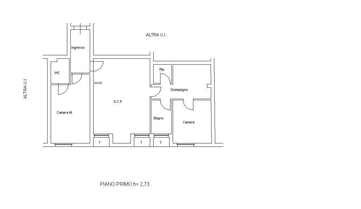 Planimetria 1/1 per rif. 7014