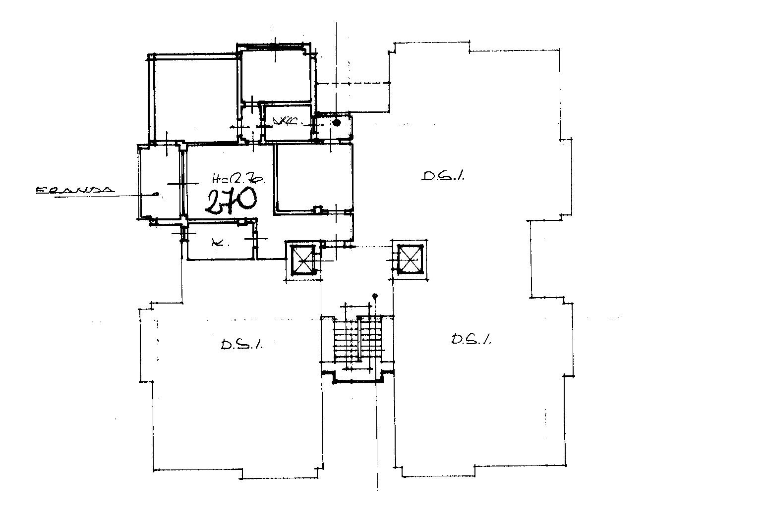 Planimetria 1/1 per rif. 7050