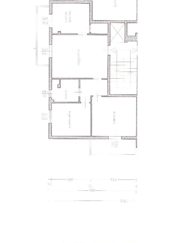 Appartamento in vendita, rif. 7078 (Planimetria 1/1)