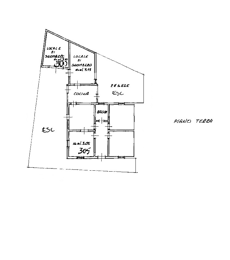 Viareggina in vendita, rif. 7079 (Planimetria 1/1)