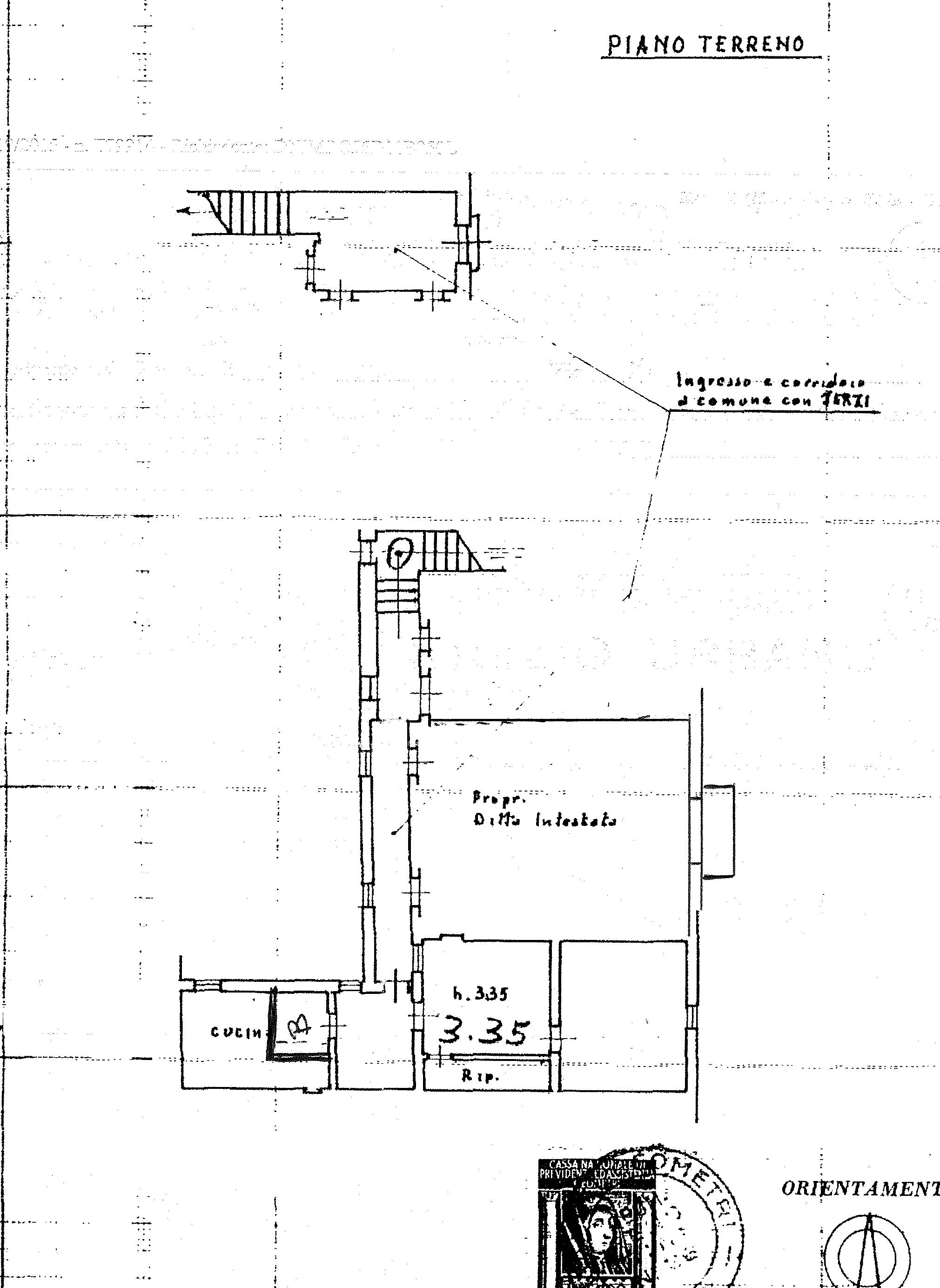 Appartamento in vendita, rif. 7081 (Planimetria 1/1)