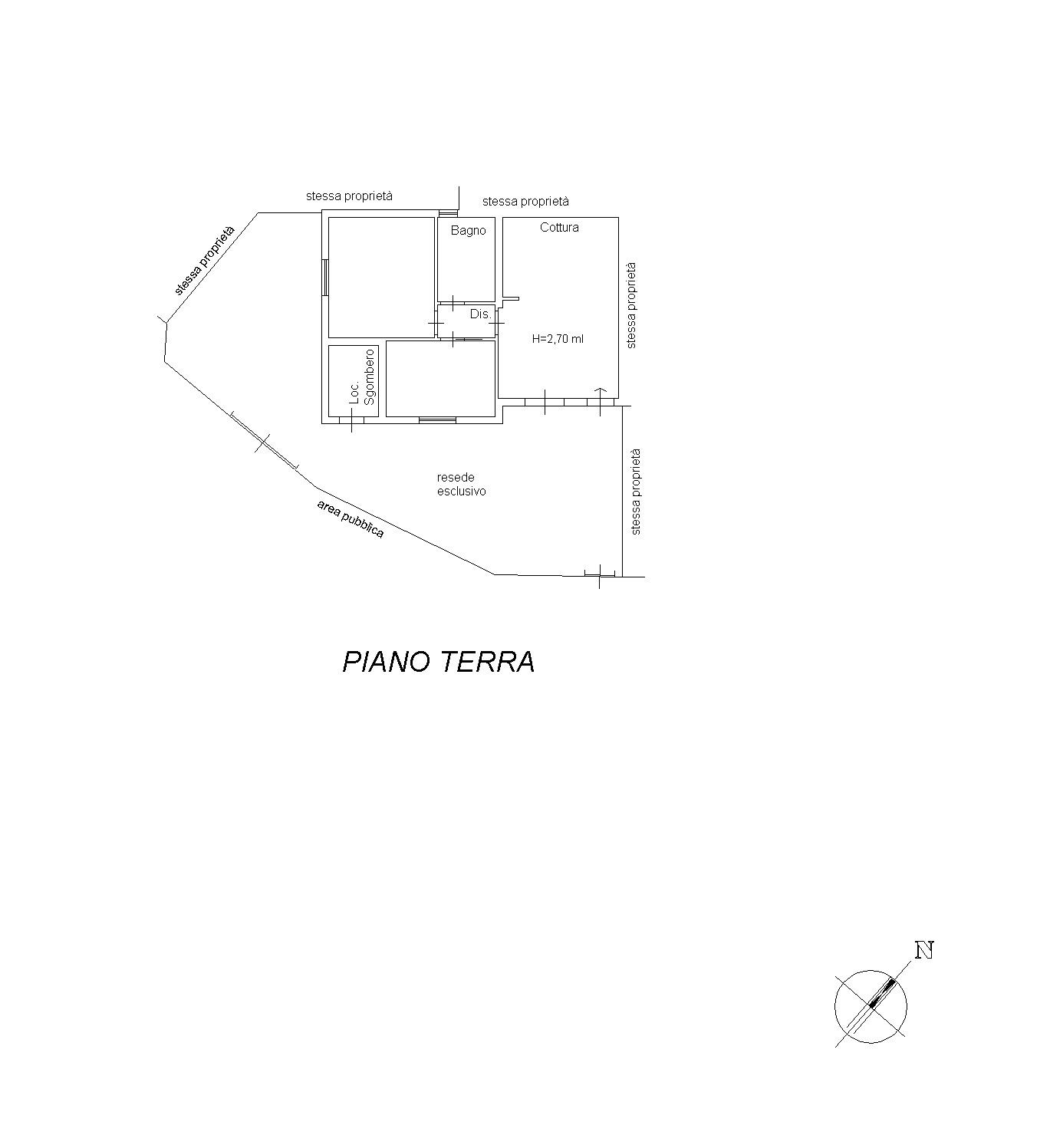 Appartamento in vendita, rif. 7099 (Planimetria 1/1)