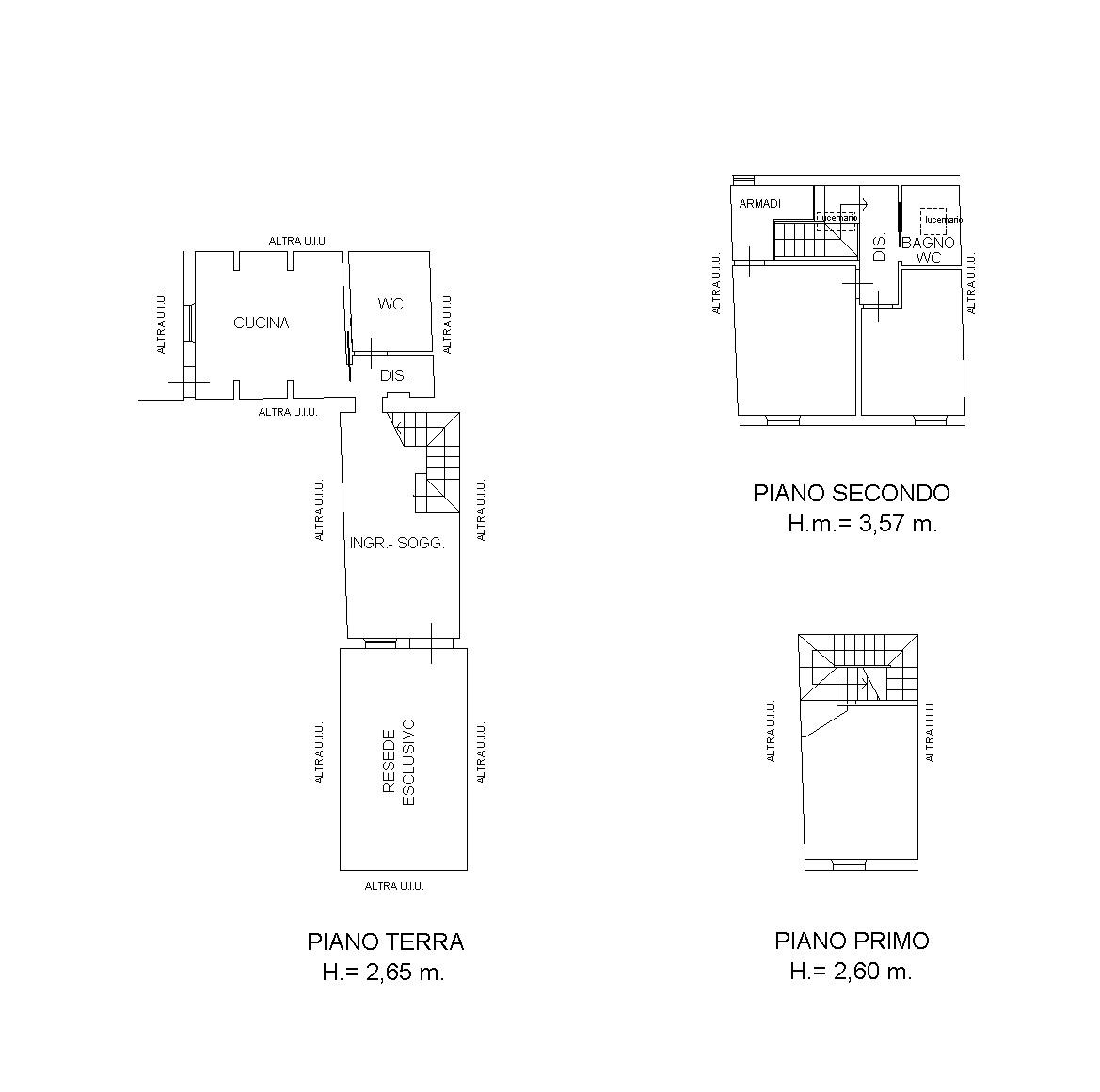 Terratetto in vendita, rif. 7101 (Planimetria 1/1)