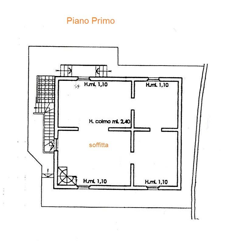 Planimetria 1/3 per rif. Au260