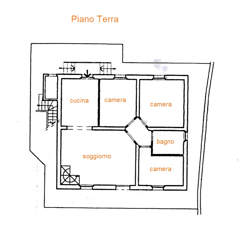 Planimetria 2/3 per rif. Au260