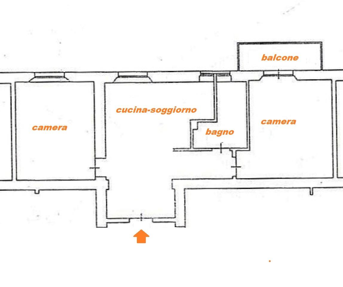 Planimetria 1/1 per rif. Au276
