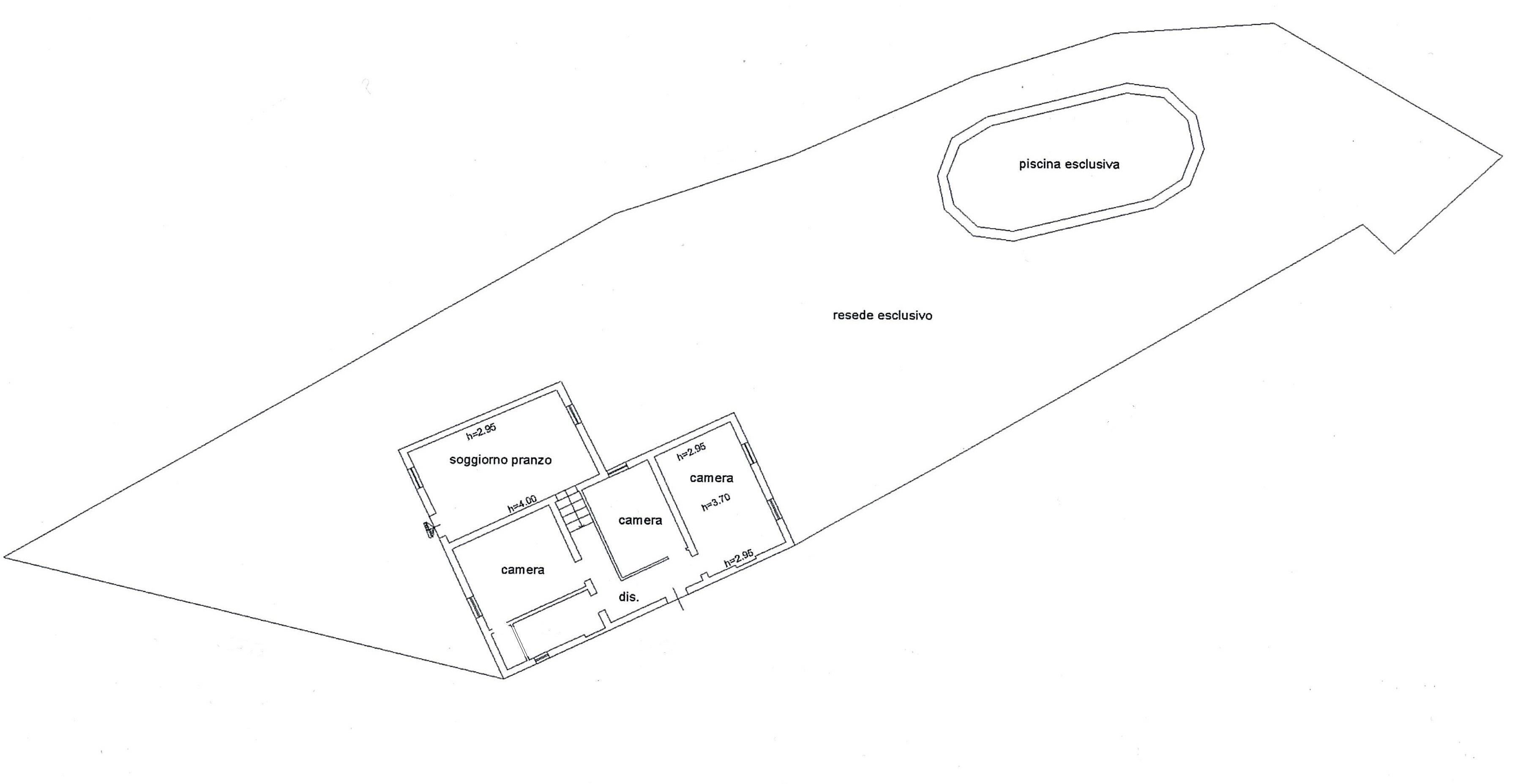 Planimetria 2/2 per rif. Au280