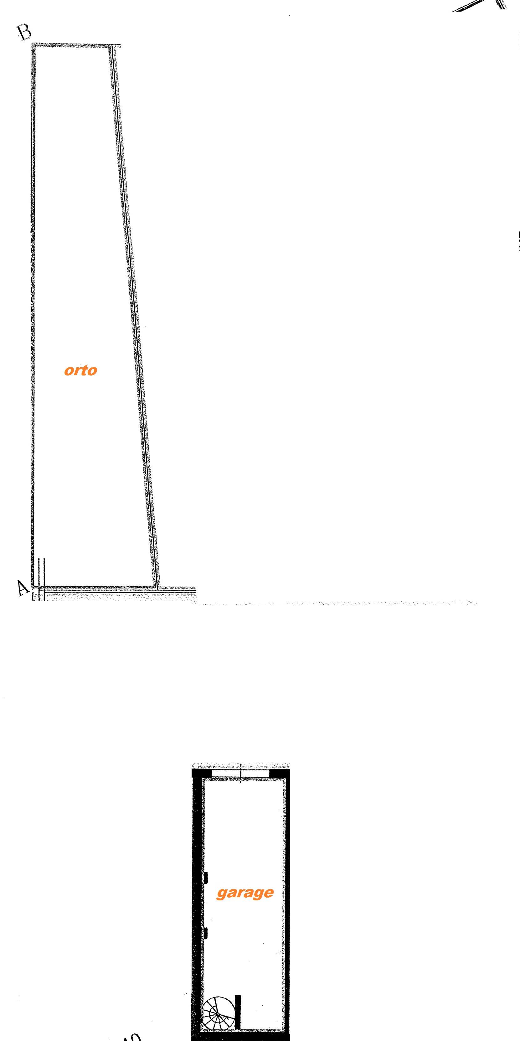 Planimetria 2/2 per rif. Au297