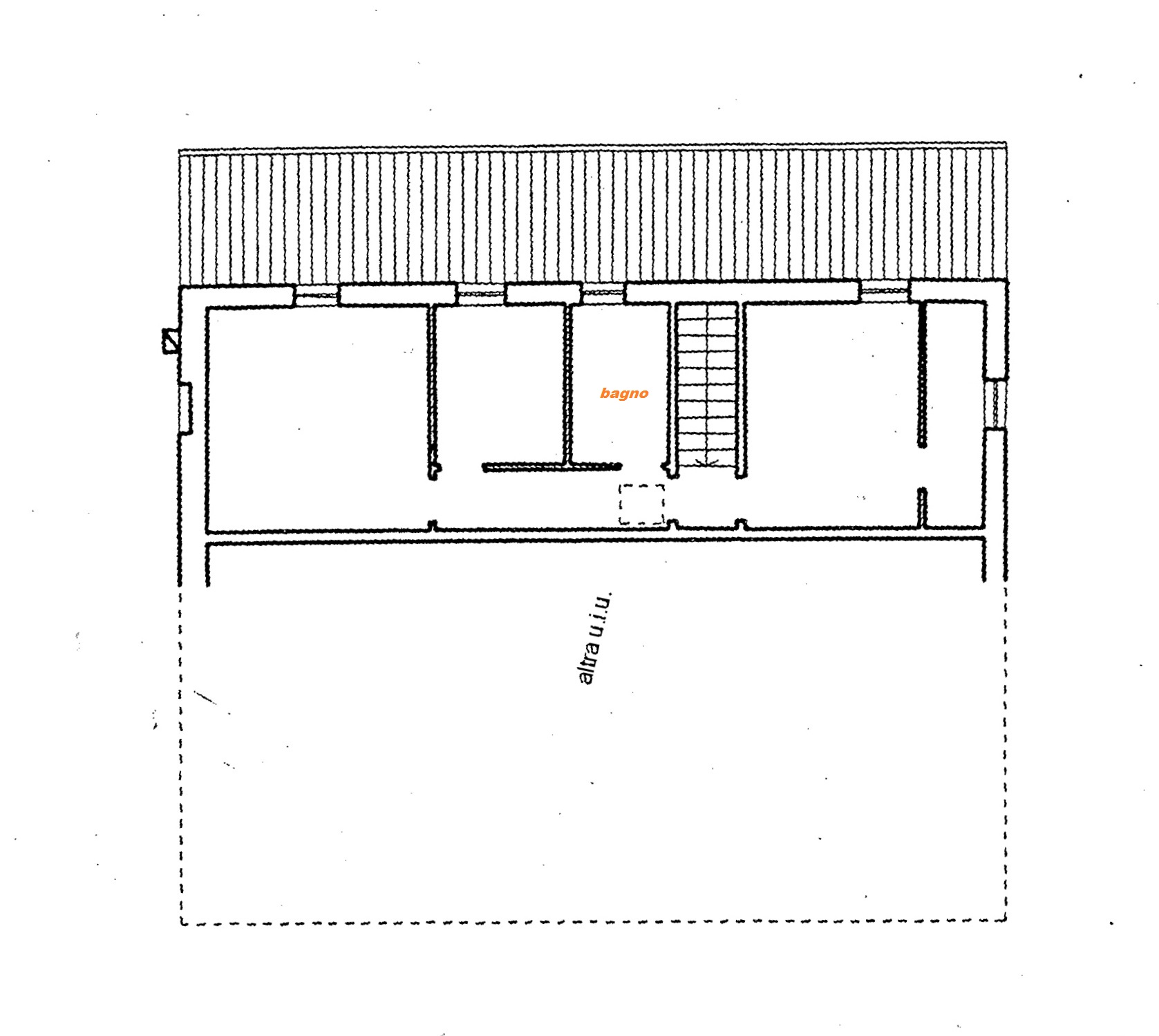 Planimetria 2/2 per rif. Au303