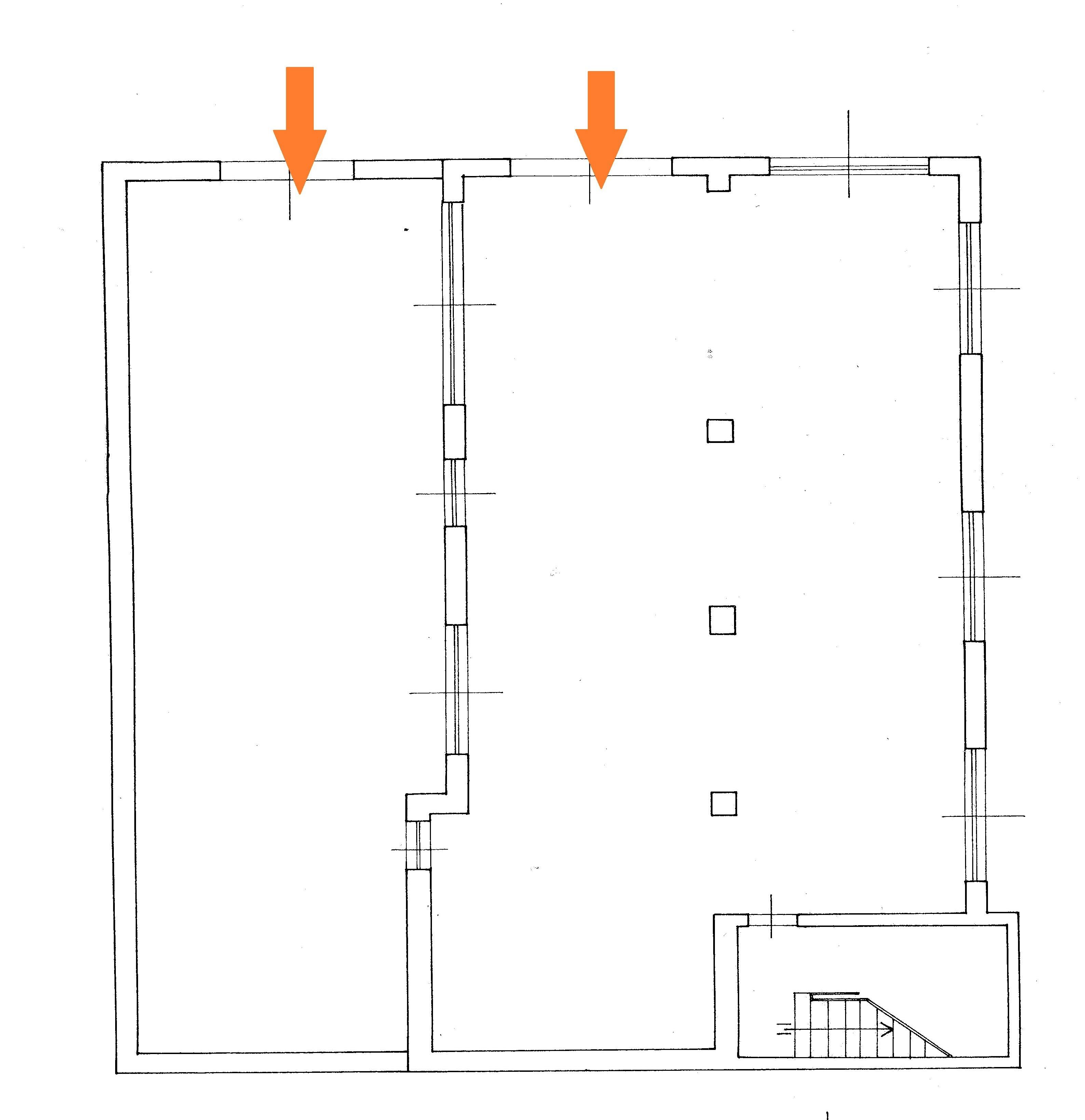 Planimetria 1/1 per rif. Au305