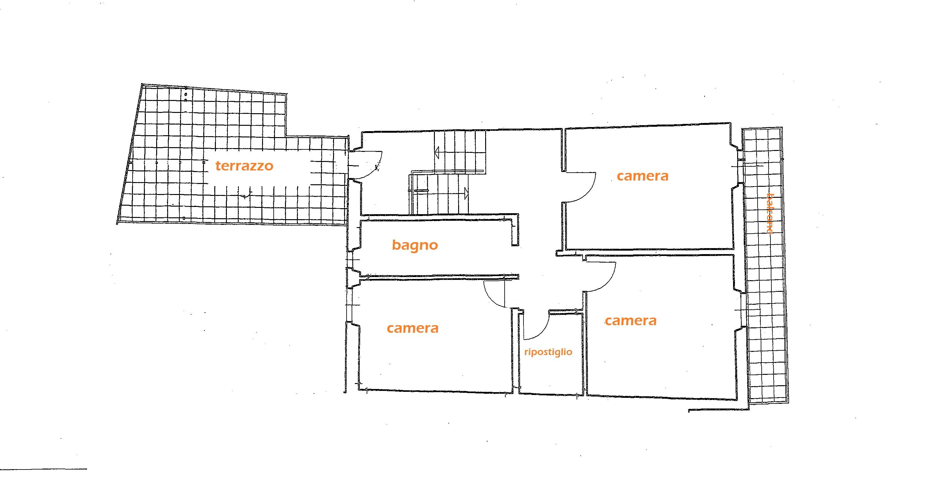 Planimetria 2/2 per rif. Au323