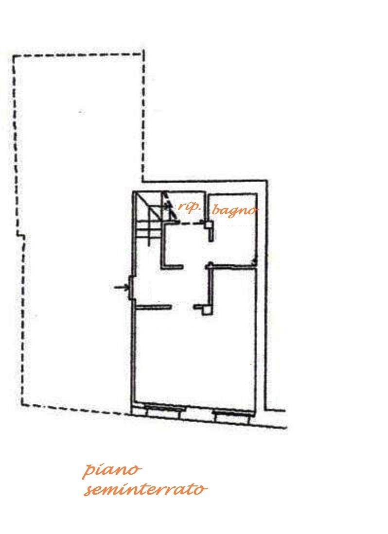 Planimetria 3/4 per rif. Au224