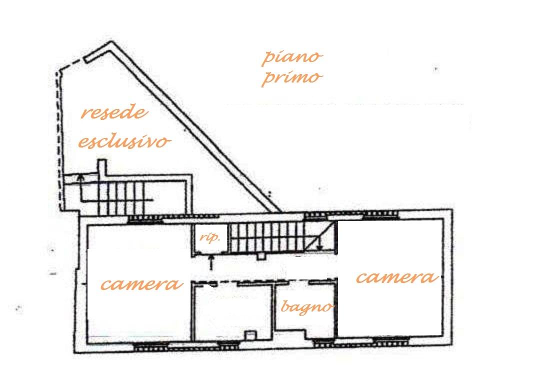 Planimetria 2/4 per rif. Au224