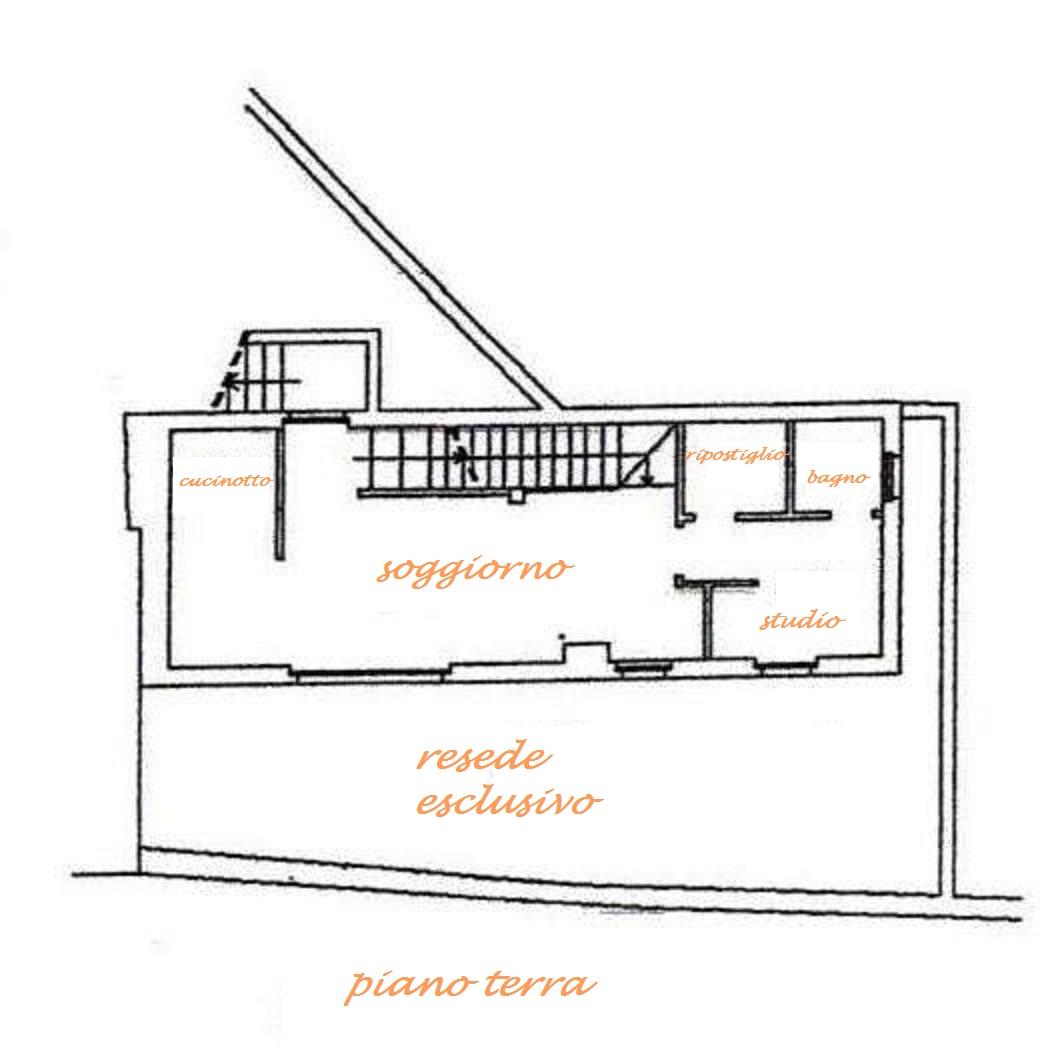 Planimetria 1/4 per rif. Au224