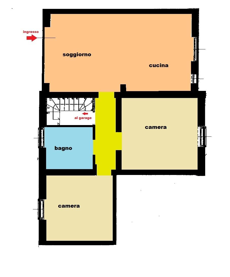 Planimetria 2/3 per rif. Au342a