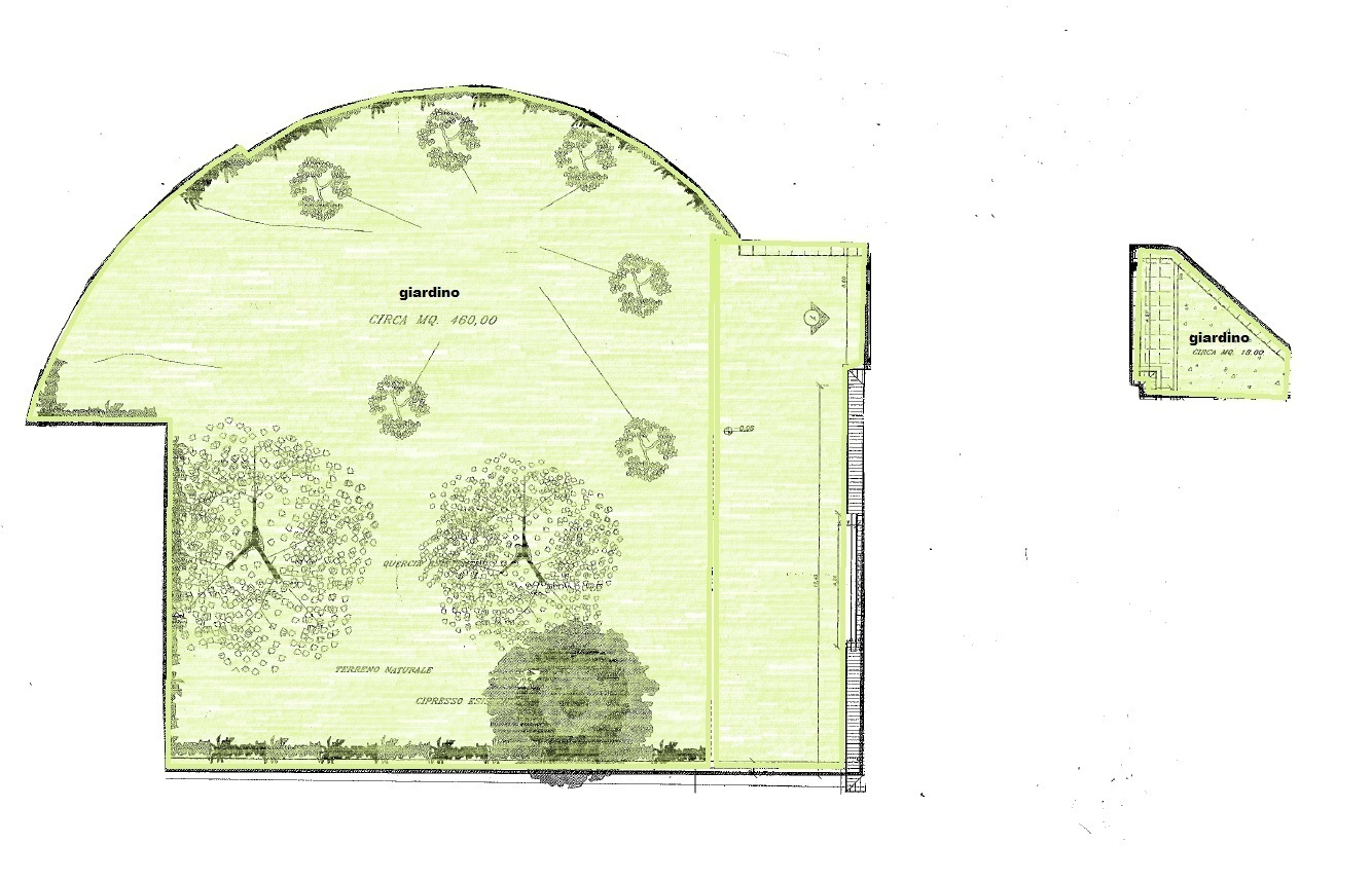 Planimetria 1/3 per rif. Au342a