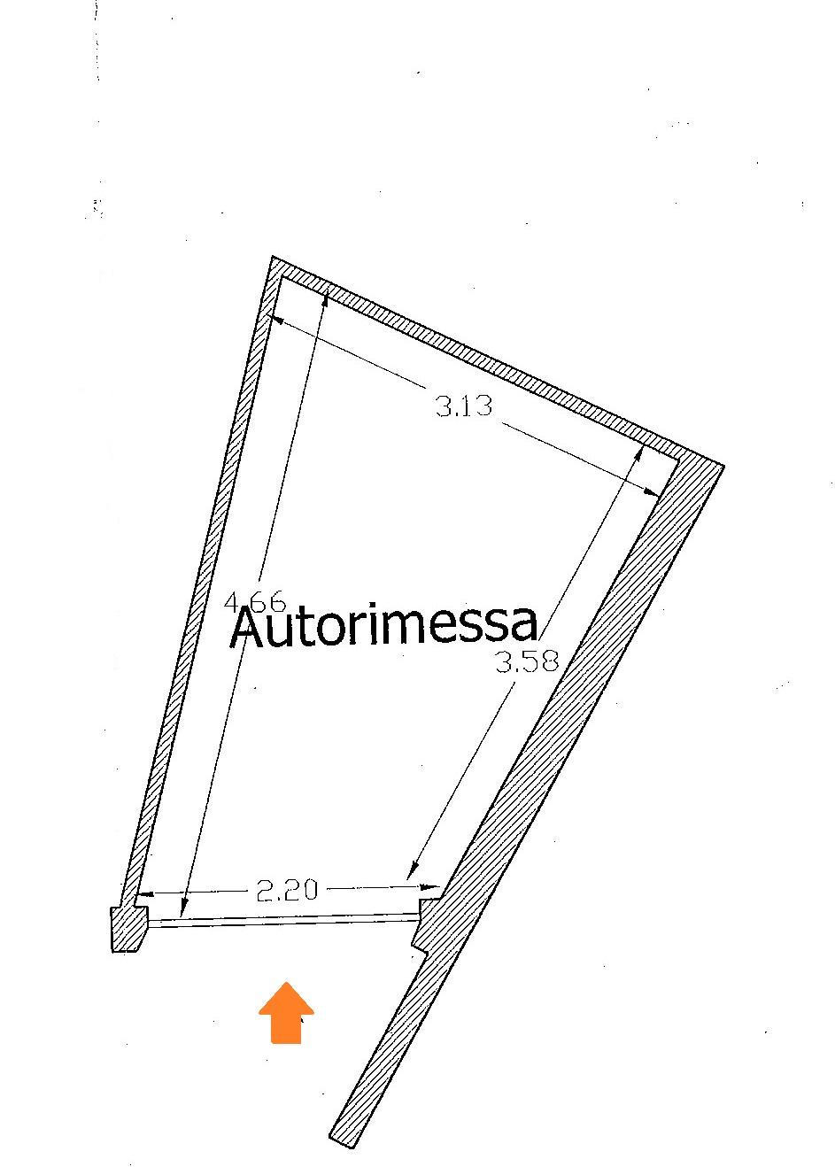 Planimetria 2/2 per rif. Au349