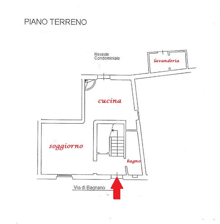 Planimetria 1/2 per rif. Au359a