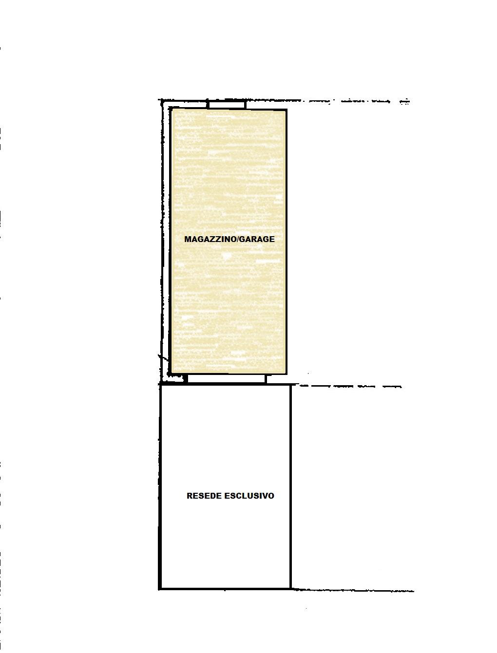 Planimetria 2/2 per rif. Au372