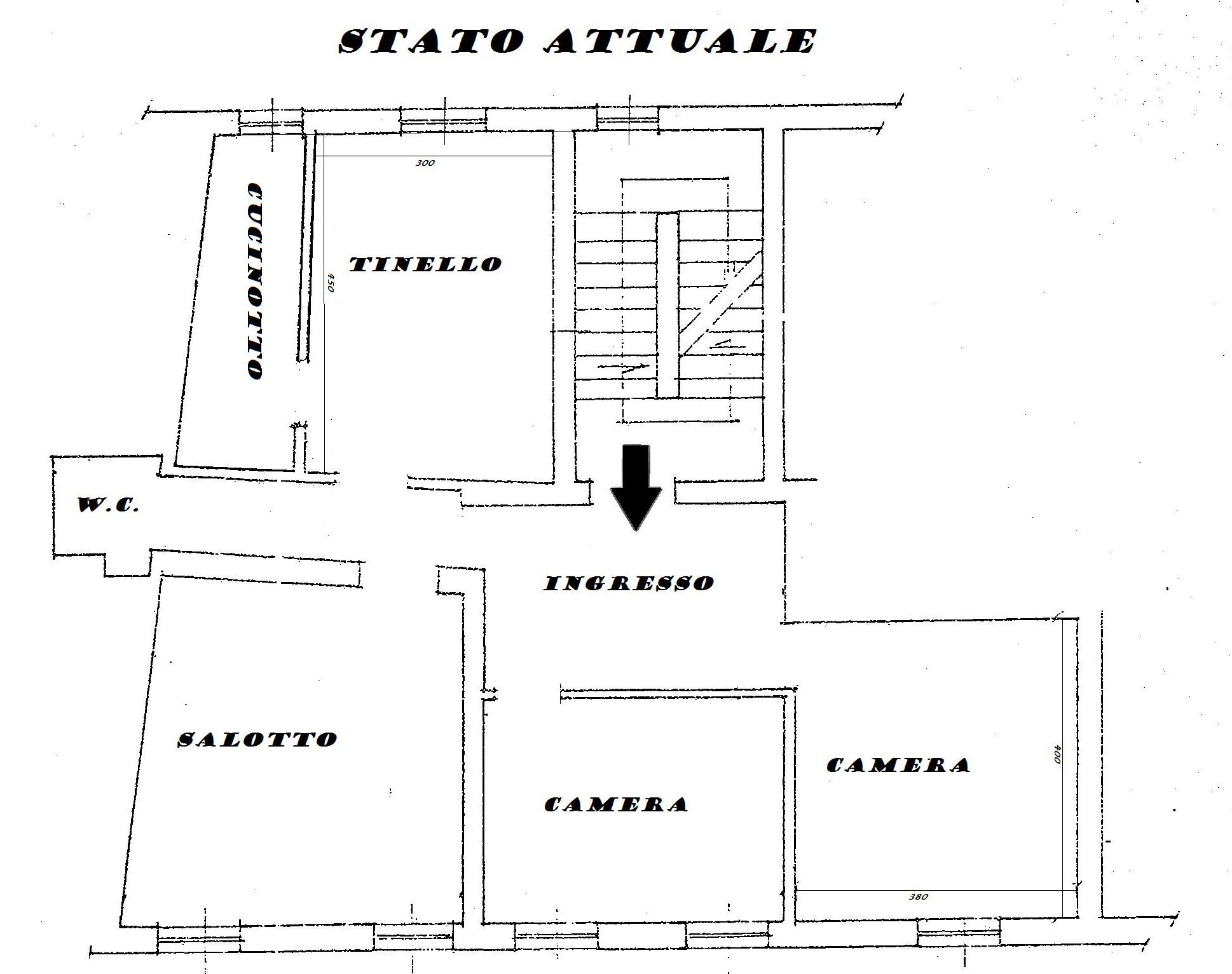 Planimetria 1/2 per rif. Au374