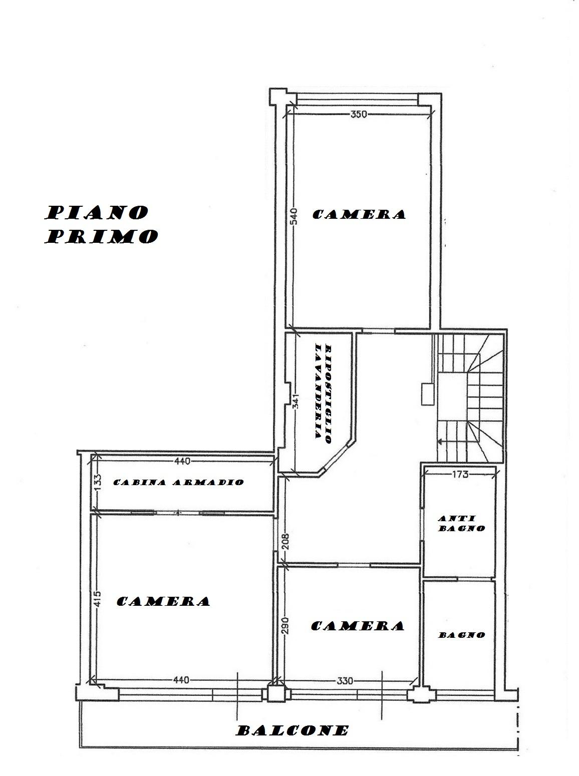 Planimetria 2/2 per rif. 165a