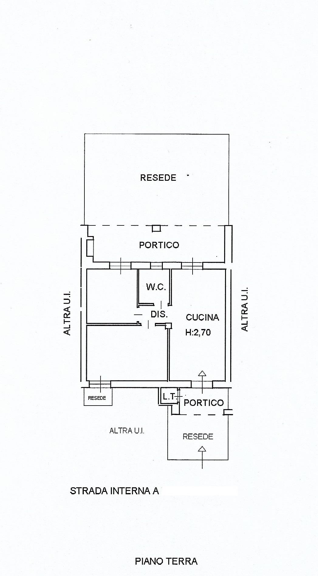 Planimetria 1/1 per rif. 3936