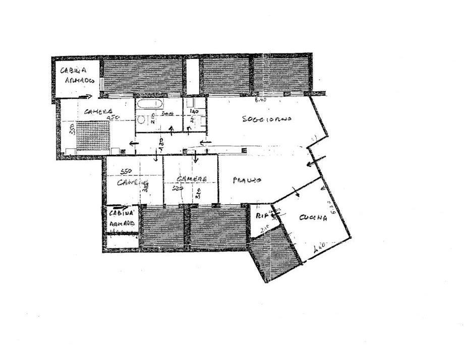 Attico in vendita, rif. 287 (Planimetria 1/1)