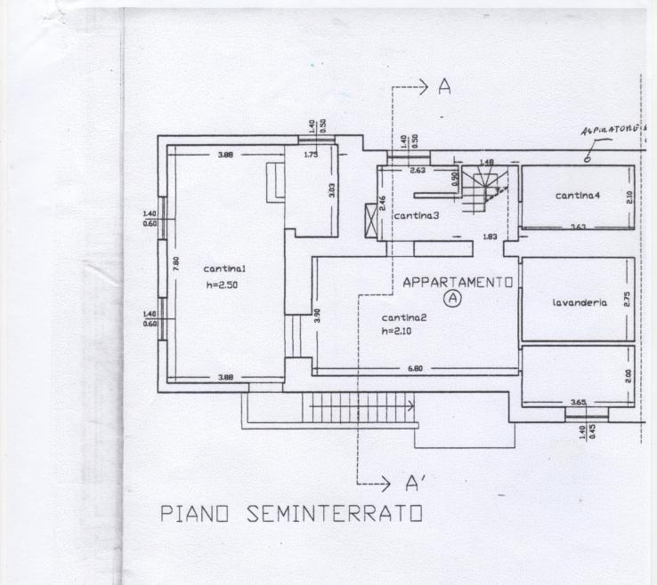 Appartamento in vendita, rif. 294 (Planimetria 2/2)