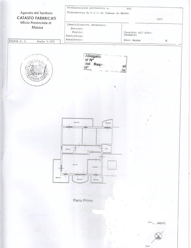 Appartamento in vendita, rif. 297 (Planimetria 1/1)