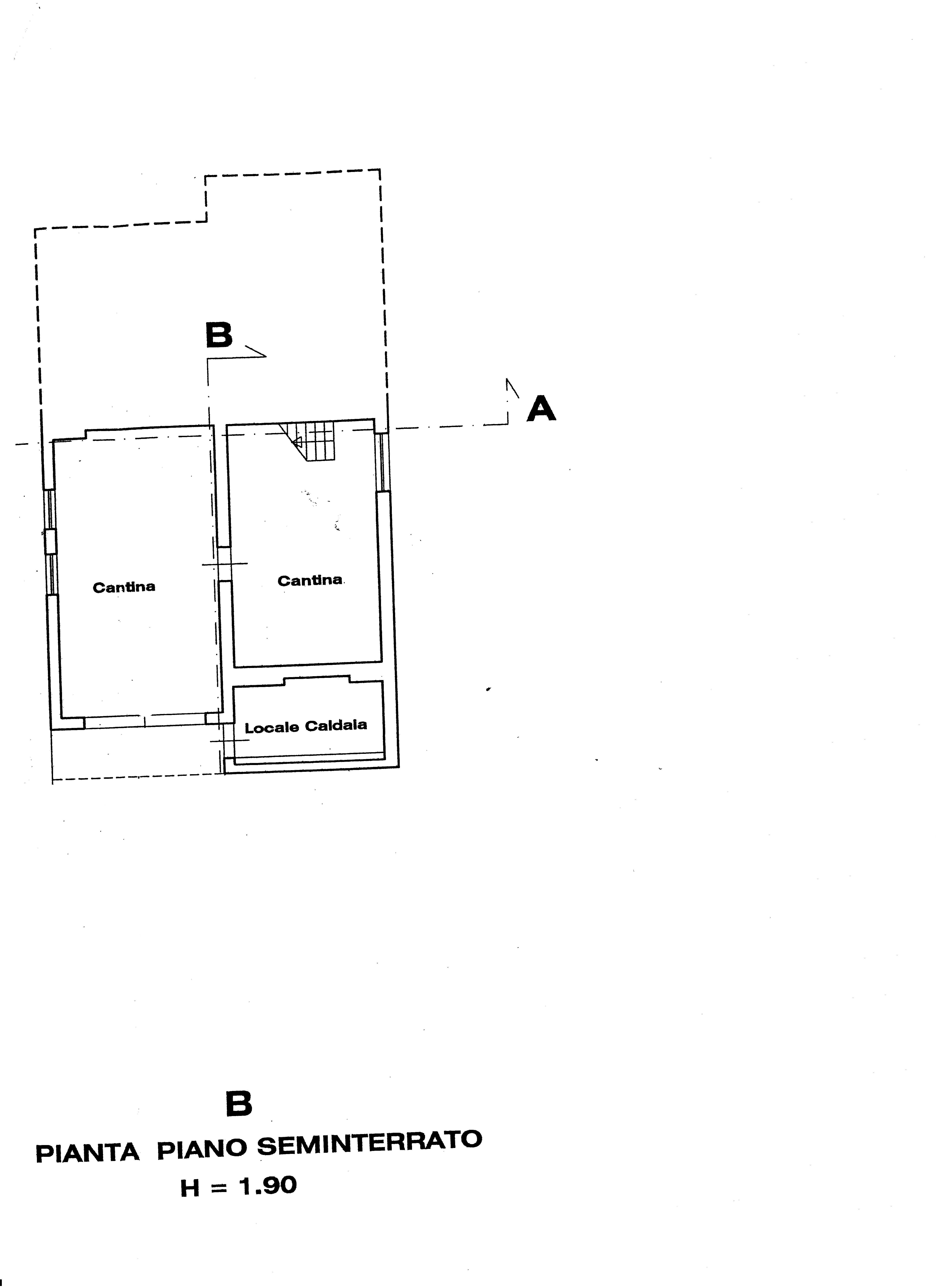 Villa singola in vendita, rif. 388 (Planimetria 2/6)