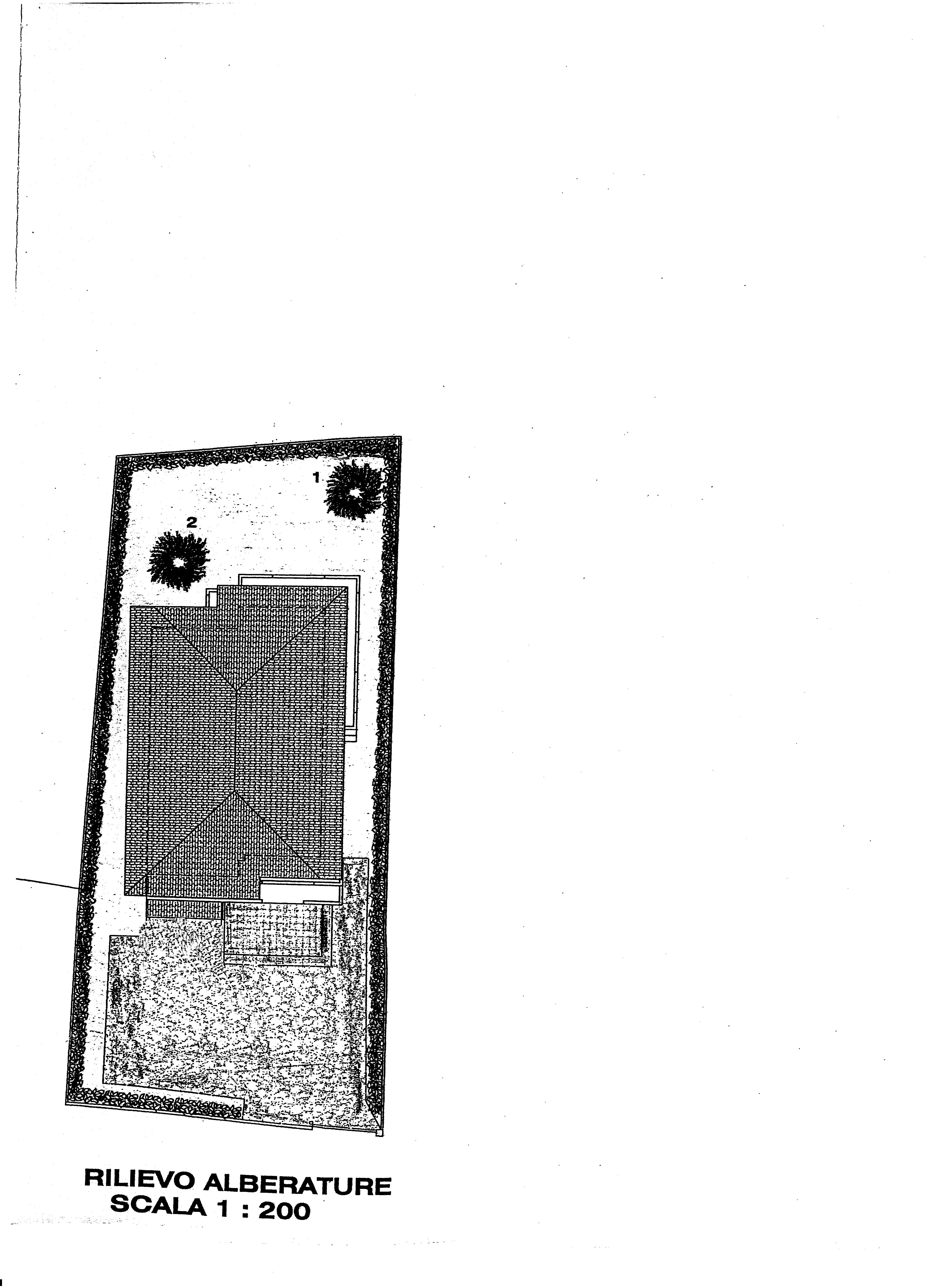 Villa singola in vendita, rif. 388 (Planimetria 6/6)
