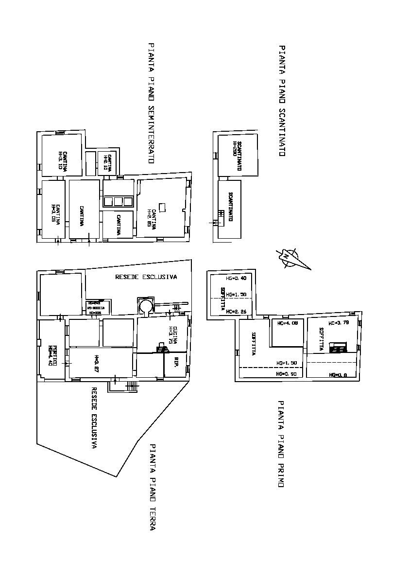 Planimetria 2/3 per rif. 00019