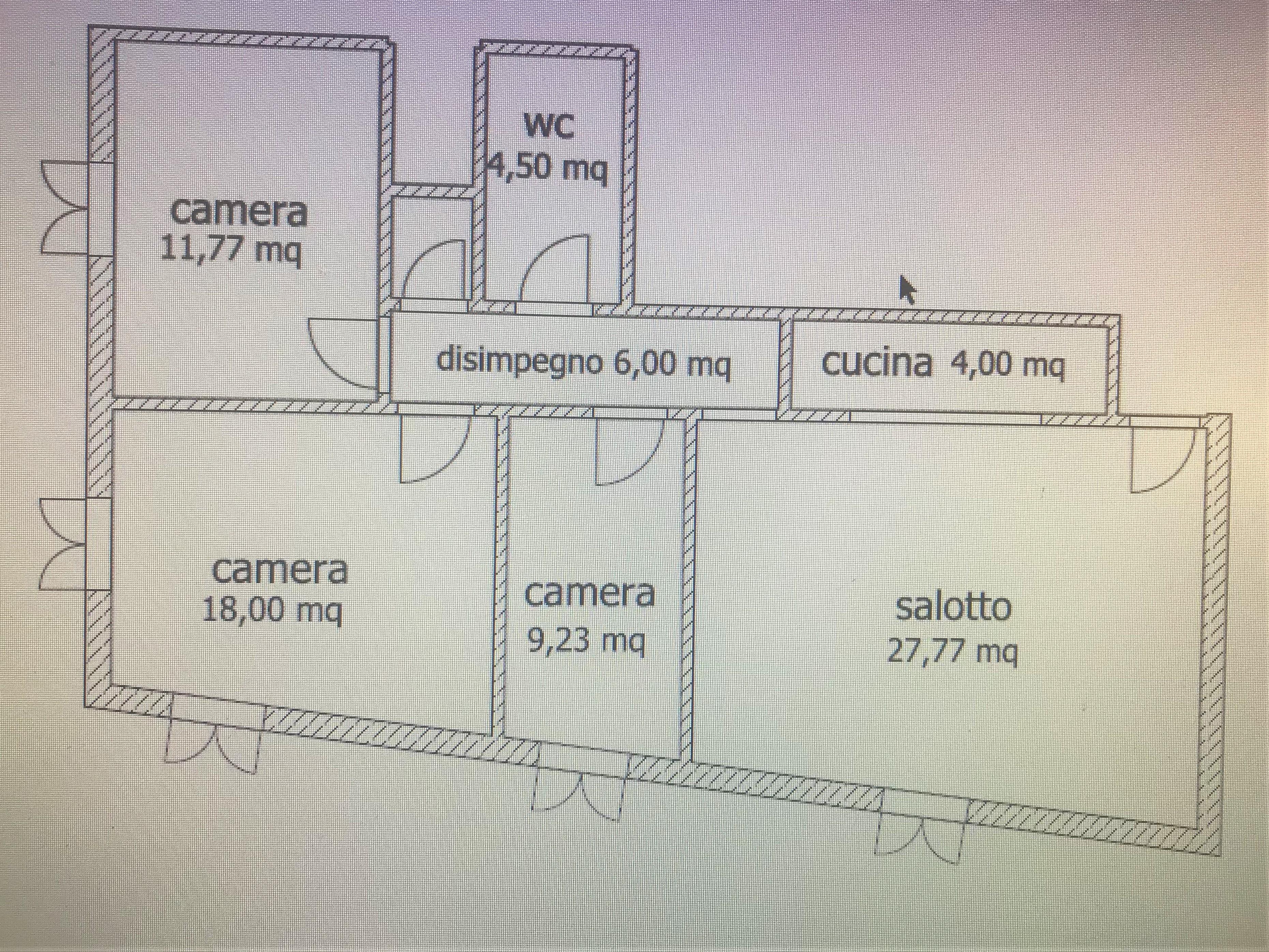 Planimetria 1/1 per rif. 5V212