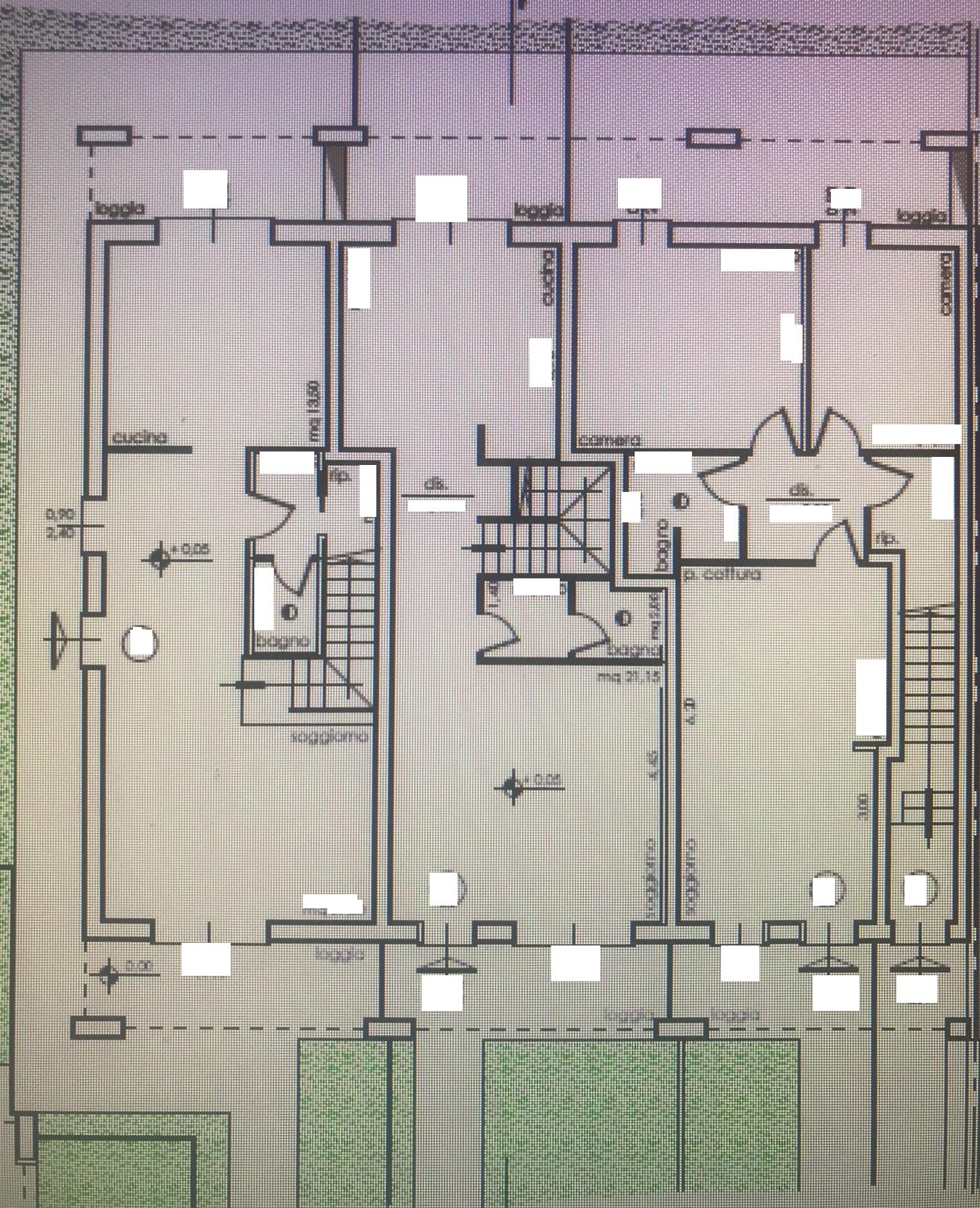 Planimetria 1/3 per rif. NC186