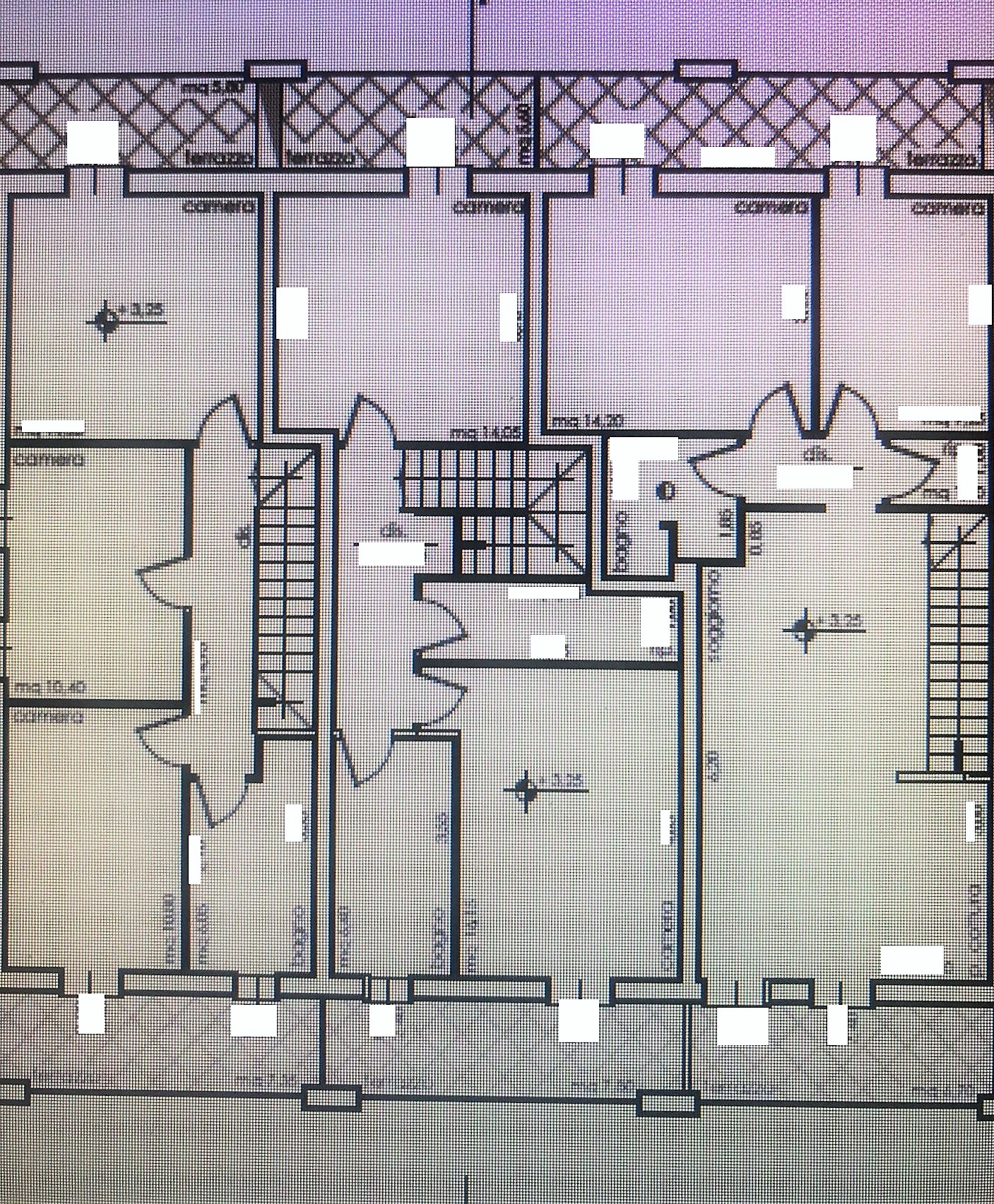 Planimetria 2/3 per rif. NC186