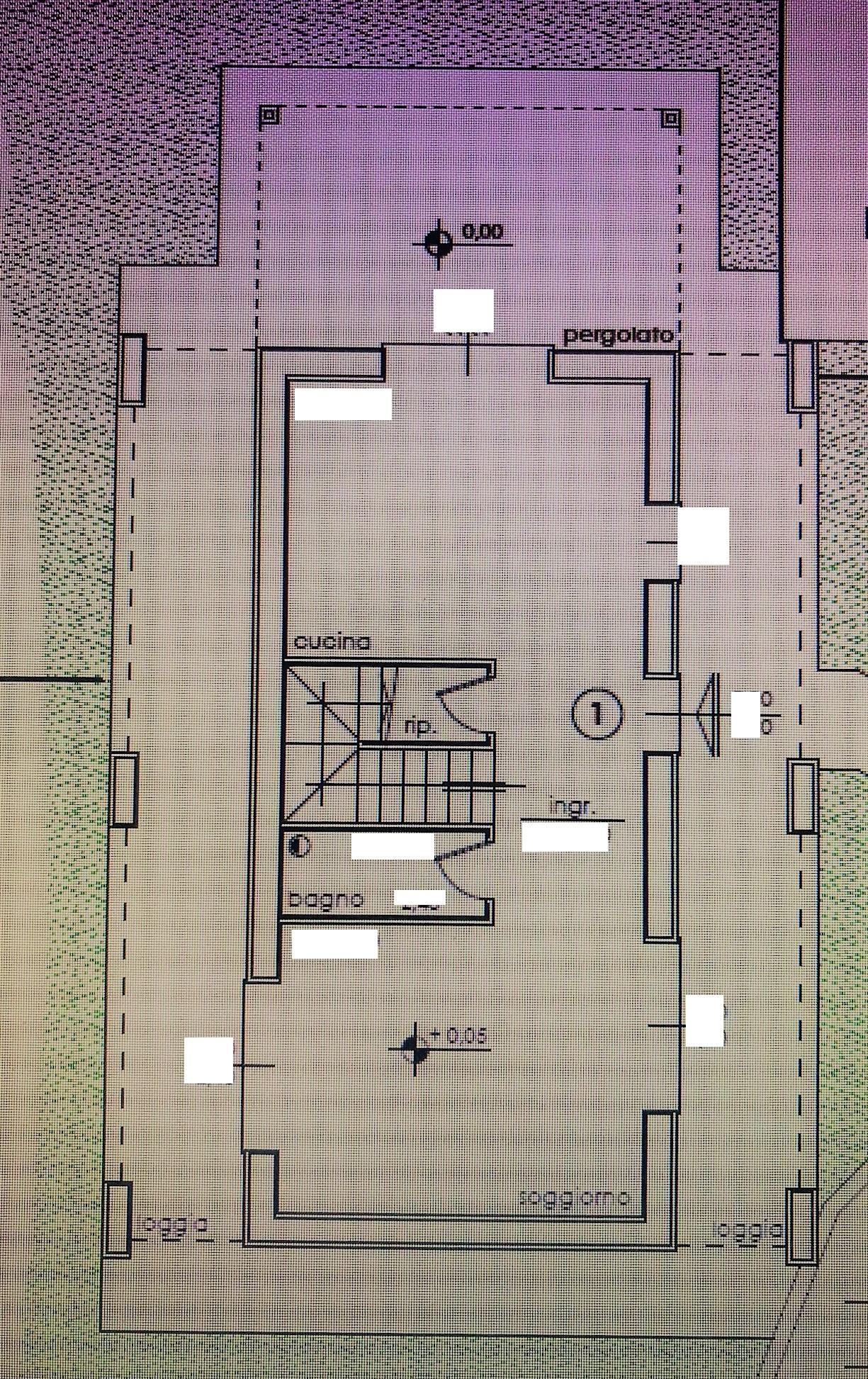 Planimetria 1/3 per rif. NC189