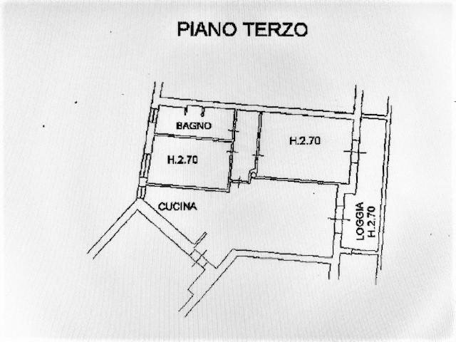Planimetria 1/1 per rif. 3V368